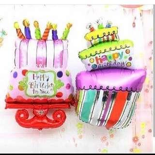 生日蛋糕汽球 包郵