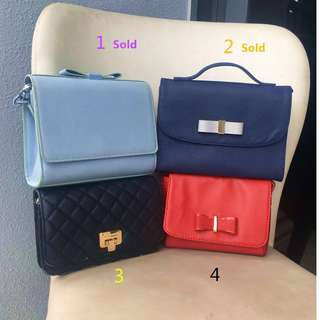 Charles & Keith/ Esprit Small Size Sling Bags