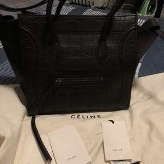 Celine 黑色機械人袋