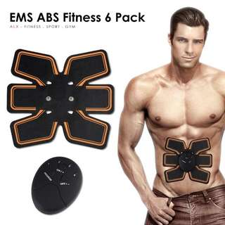 Six 6 pack EMS ABS Fit wireless body gym for slim tummy