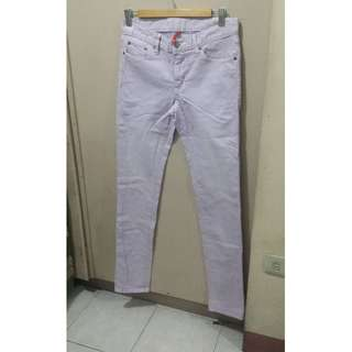 REPRICED! Uniqlo Lavander Skinny Fit Jeans