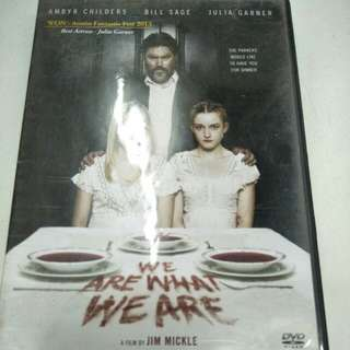 We are what we are movie DVD