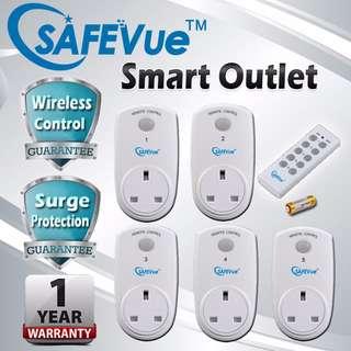 SAFEVue Smart Outlet 5 in 1