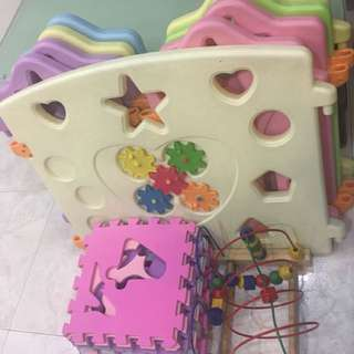 Combo Sale- Playard/puzzle/woodentoy