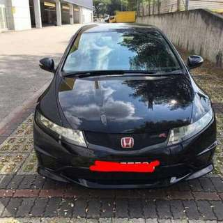 Honda Civic FN2R 2.0L 6-Speed Manual      -(SG)-