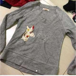 灰色兔兔衞衣