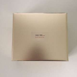 +BNIB+ Sum:37 Secret Special Facial Cleanser Toner Serum Gel Cream Travel Set