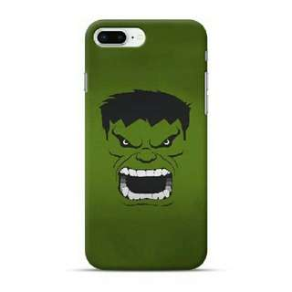 Hulk Art iPhone 8 Plus Custom Hard Case