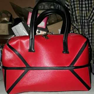 Tas Belleza Merah 100% Original
