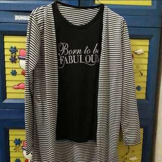 Born To Be Fabulous Cardigan Shirt
