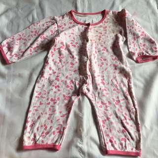 Preloved Jumpsuit Baby Pink