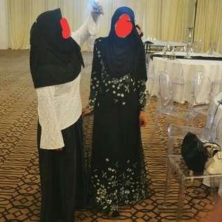 Zalia Black Dress