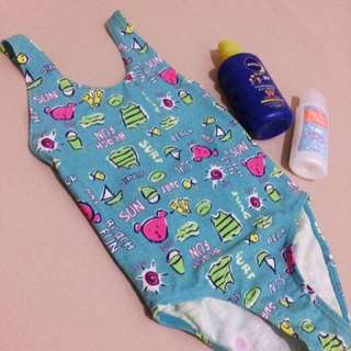 one piece bathing suit for little girls