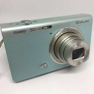 🚚 (二手)CASIO EX-ZR55 自拍神器 薄荷綠