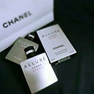 💯Chanel Allure Homme Sport perfume
