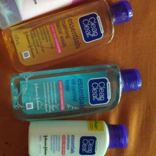 clean & clear 1 set