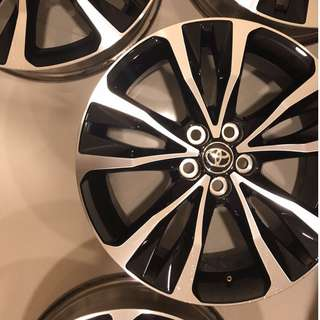"Altis Original 17"" rims Caldina Wish Prius"