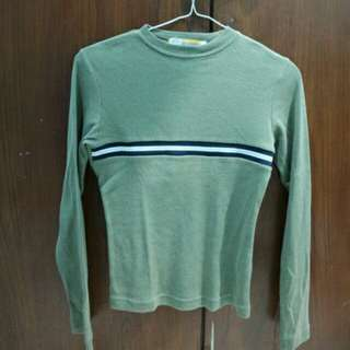 Long sleeve green army