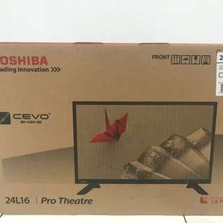 Toshiba 24L1600VJ Full HD Flat LED TV [24 Inch] BNIB