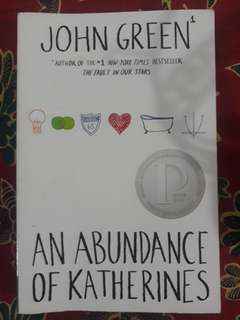 Free ongkir! John Green - An Abundance of Katherines