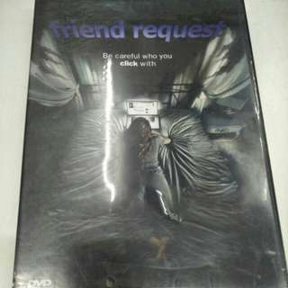 Friend request movie DVD
