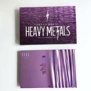 Urban Decay HEAVY METALS Metallic 眼影組合