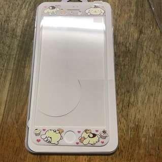 iPhone 7plus 鋼化玻璃保護貼 布丁狗 布甸狗 mon貼