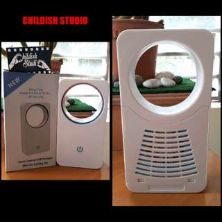 USB Mini Air Bladeless Cooling Fan 6 inch (not rechargeable)