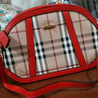 Burberry Red Sling bag