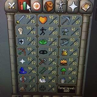 Med level starter account