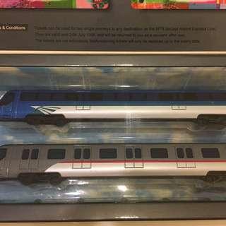 1998 年機場快線 港鐵模型