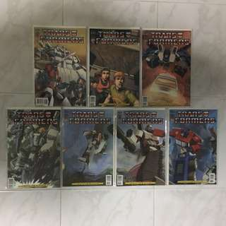 Transformers: Infiltration #0-6