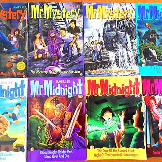 8 for $20: Mr Mystery (#4, 23, SE2), Mr Midnight (#2, 19, 23, 76, SE8 )