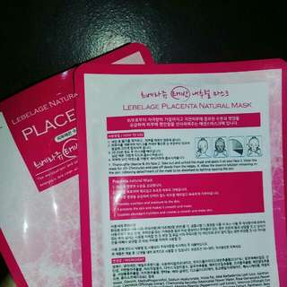 Placenta Facial Mask (LIMITED STOCKS ONLY)