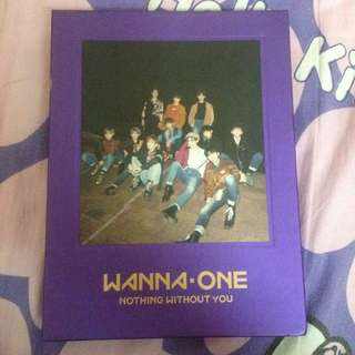 [WTS] WANNA ONE NOTHING WITHOUT YOU (WANNA VER) FULL JISUNG SET