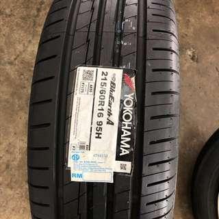 215/60/16 AE50 Yokohama Tyre