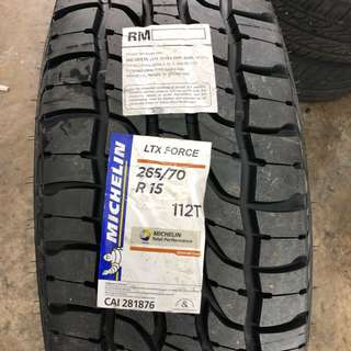 265/70/15 LTX Force Michelin Tyre