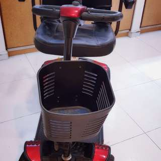 Mobility scooter or Motorised wheelchair