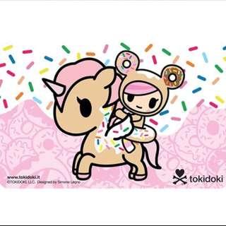 BN Donutella Dolce Ezlink Ez-link Card Tokidoki