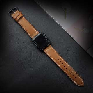 Apple Watch 1/2/3 皮錶帶38mm/42mm 包郵