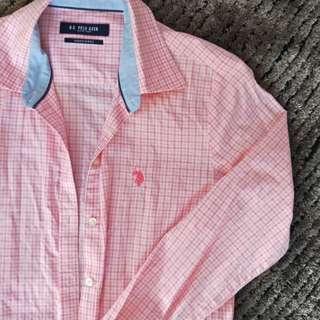 Ralph Lauren Button Up Pink size S Fake
