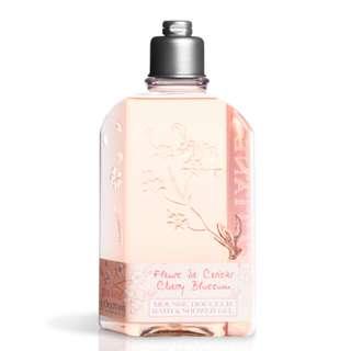 L'OCCITANE Mousse Douceur Fleurs de Cerisier Cherry Blossom Bath & Shower Gel 250ml