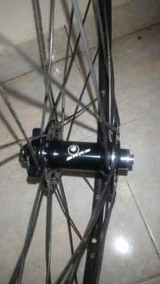 Wheelset hub sars 26er