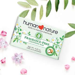 Fragrance-Free Cleansing Bar 120g by HUMAN❤NATURE