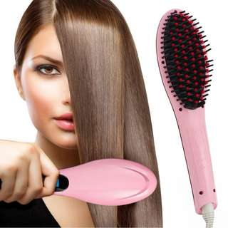 Fast Hair Straightening Electrical Brush
