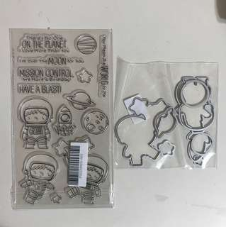Birthday Matching Dies for scrapbooking clear stamps