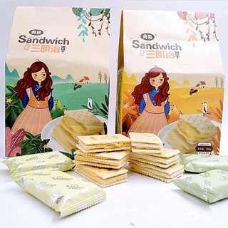 尚發三明治餅乾  檸檬/乳酪
