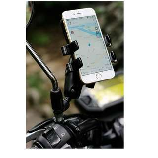 Mirror Mount Handphone Holder