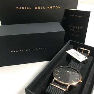 Daniel Wellington Classic Black Cornwall 36mm