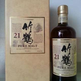 竹鶴 21